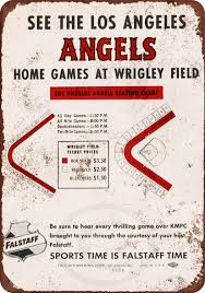 Amazon Com Falstaff And The Los Angeles Angels Vintage