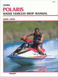 polaris watercraft repair manual by clymer  polaris 650 750 pwc repair manual 1992 1995