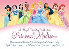 Free Princess Birthday Invitation Printable Orderecigsjuice Info