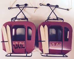 Metal Vintage Gondola Ornament 6.5