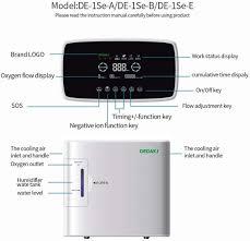 <b>DEDAKJ DE</b>-1S Oxygen Concentrator 1-6L/min Adjustable with ...