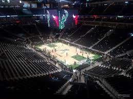 Fiserv Forum Seating Chart Milwaukee Bucks Fiserv Forum Section 218 Milwaukee Bucks Rateyourseats Com