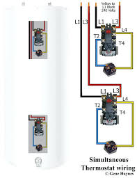 kenmore water heater thermostat series heating element dryer heating kenmore water heater thermostat simultaneous water heater wiring both thermostats operate independently used in large water