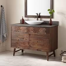 mid century modern bathroom vanity. 48\ Mid Century Modern Bathroom Vanity O