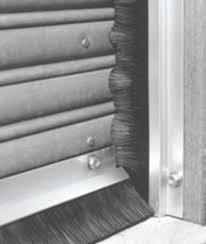 alloy door strip brush