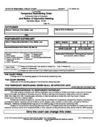 Cv Order Cv 403 Notice Of Hearing Temp Restraining Order Solutions