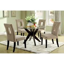 glass dining table and chairs round. medium size of kitchen design:awesome dining table chairs 5 piece set breakfast glass and round