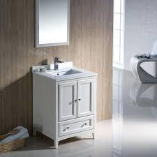 24 inch bathroom vanity traditional antique white inch bathroom vanity fvn20aw 24 single bathroom vanity set