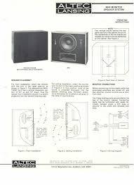 operation1 jpg altec 9842 studio monitor circa 1982 specs courtesy of don brouse © altec lansing technologies