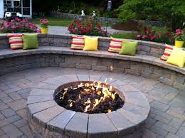 Interesting Patio Ideas With Fire Pit On A Budget Firepit Water Feature For Patios In Inspiration