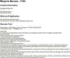 Type 2 - Upload Application: Marjorie Barnes