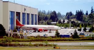 air india boeing 777 200lr roll out everett wa everett