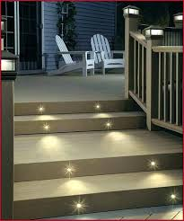 deck stair lighting ideas. Outdoor Stair Lighting Solar Lights For Deck Steps A Purchase Step . Ideas