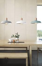 Hanging Lights Over Kitchen Bench Croft 1 Light Pendant In Brushed Copper Ash Kitchen