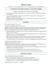 Resume Qualifications Examples For Customer Service Resume