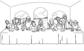 Small Picture Last Supper Coloring Page with regard to Really encourage to color