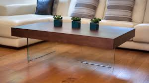 dining room impressive large modern dark wood coffee table clear glass legs uk with regard to