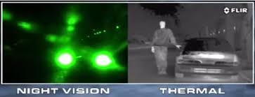thermal imager sensor circuit working night vision and thermal