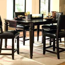 Bar Height Kitchen Table Set Black Bar Table Pub Kitchen Sets Black Pub Table Set
