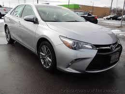 2015 Used Toyota Camry SE with Convenience Pkg, Sunroof ...