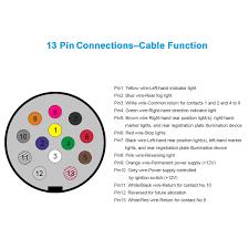 13 pin caravan plug wiring diagram uk wiring solutions 13 pin to 7 pin adapter wiring diagram exelent 9 pin trailer plug wiring diagram embellishment electrical uk caravan plug wiring solutions