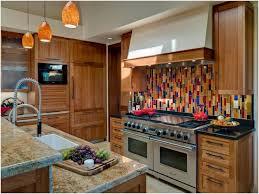 mosaic glass tile backsplash ideas warm kitchen cabinet backsplash multi color backsplash tile reverse