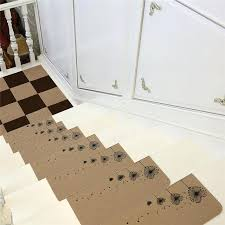 stairs rug set creative stair carpet sets anti slip stairs tread protector mats soft step descending