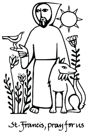 St Francis Coloring Page St Of Coloring Pages St Of Coloring Page St