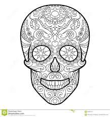 Image Result For Skull Mandala Day Of The Dead Art Pinterest