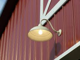 perfect personalized barn light fixtures simple brown classic red motive ideas installed