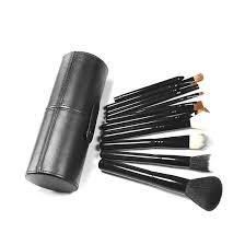 12pcs powder foundation eyeshadow eyeliner eyebrow cosmetic makeup brushes set walmart