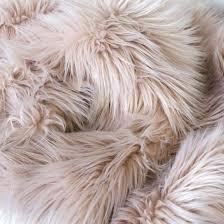 blush fur rug faux throw sheepskin mongolian curly