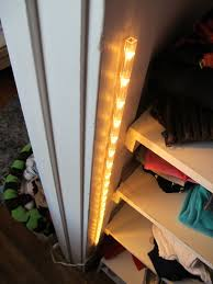 Closet lighting solutions Led Tape 15 Closet Lighting Solution Something Like This Or Touch Light Would Get More Light In The Closet Pinterest 15 Closet Lighting Solution Something Like This Or Touch Light