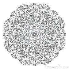 Mandala Da Colorare Difficili Disegni Da Colorare Mandala