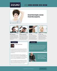 Small Picture Hairstyle Salon Web Template Free Website Templates