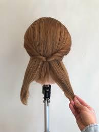5分で簡単ミディアムのまとめ髪アレンジのやり方 柏のお悩み解決