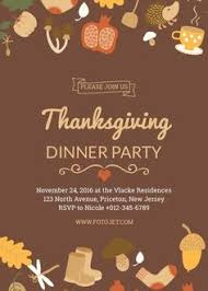 Free Online Thanksgiving Invitations 25 Best Thanksgiving Invitation Ideas Images In 2018