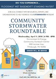 east libertylarimer community stormwater roundtable website event
