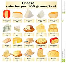 Different Cheese Illustration Of A Set Of Different Kinds