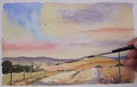 watercolour landscapes learn how to paint