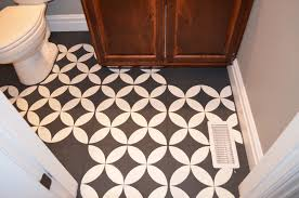 painting kitchen tile floor beautiful the girl who painted her tile what remington avenue