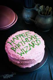 Harry Potter Birthday Cake Art Of Wizardry