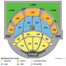 Pnc Bank Center Nj Seating Chart Thorough Garden State Arts Center Seating Chart Pnc Bank