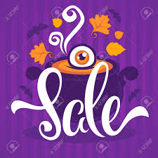 halloween sale flyer happy halloween sale banner flyer card template with horror