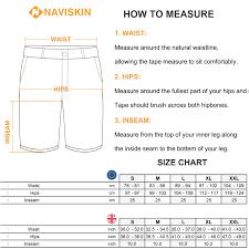 Naviskin Mens Quick Drying Breathable Active Training Upf 50 Cargo Shorts Lightweight Hiking Outdoor Shorts