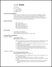 Free Creative Truck Driver Resume Templates ResumeNow Beauteous Resume Now