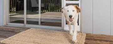 pet patio door panels sliding door