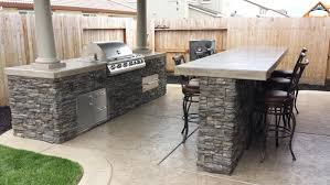 local company custom images hardscape talks concrete countertops for outdoor kitchens