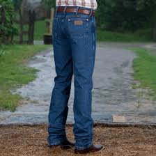 Wrangler Gold Buckle Stone Wash Slim Jean