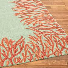 coral colored rug. Area Rugs Cute Rug Runners Blue And Coral Colored Neat Kitchen Outdoor On Beach Brown Salmon E